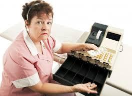 registračná pokladnica ilustračná foto