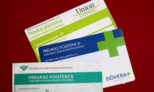 pošta zo zdravotnej poisťovne